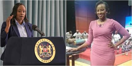 Kanze Dena's new look that left Kenyans dazzled during her first assignment
