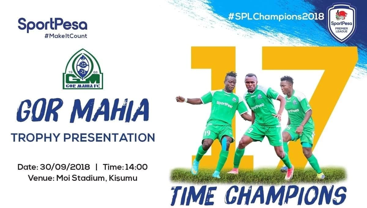 50 years, 50 games this year. How Gor Mahia have managed to rewrite the history books