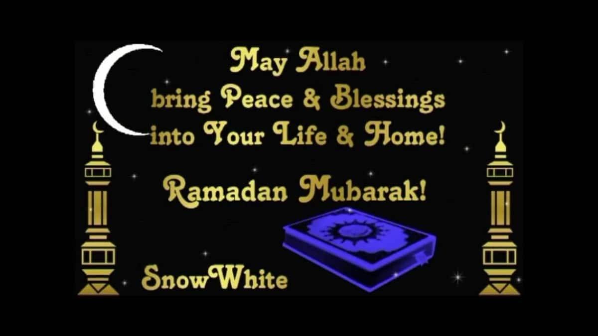 Ramadan Mubarak wishes 2018