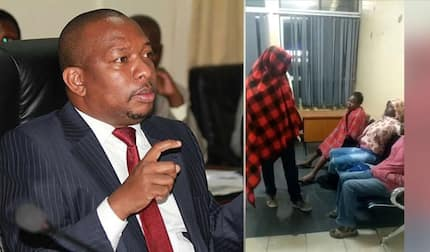 Nairobi Governor Mike Sonko goes under cover at Pumwani Hospital in wee hours of the morning
