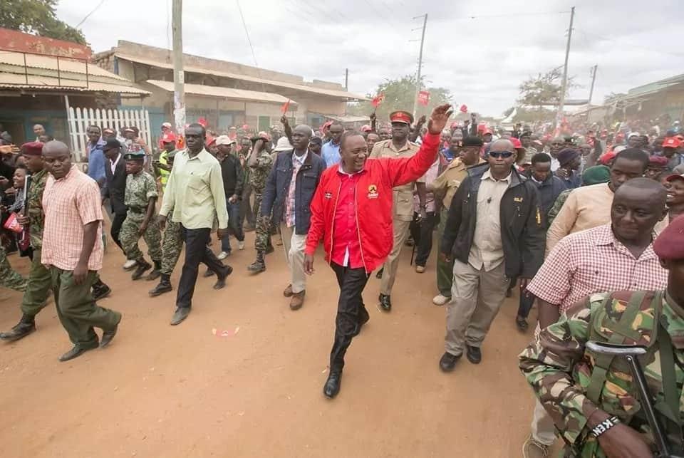 Hapa ndipo Uhuru alikita kambi huku Raila Odinga akizuru ngome yake ya Kiambu