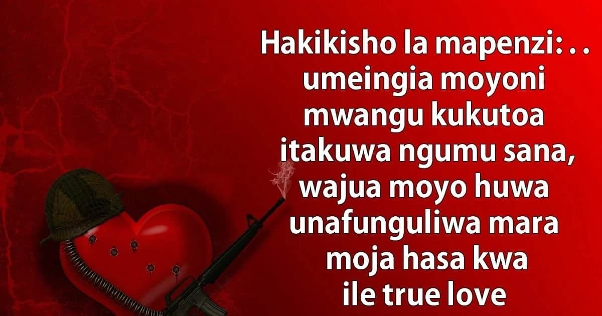 Swahili Quotes About Love With Deep Meaning And Wisdom Tukocoke