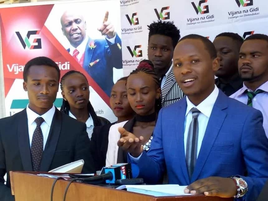 Gideon, not Ruto, best successor to Uhuru- Youths caucus