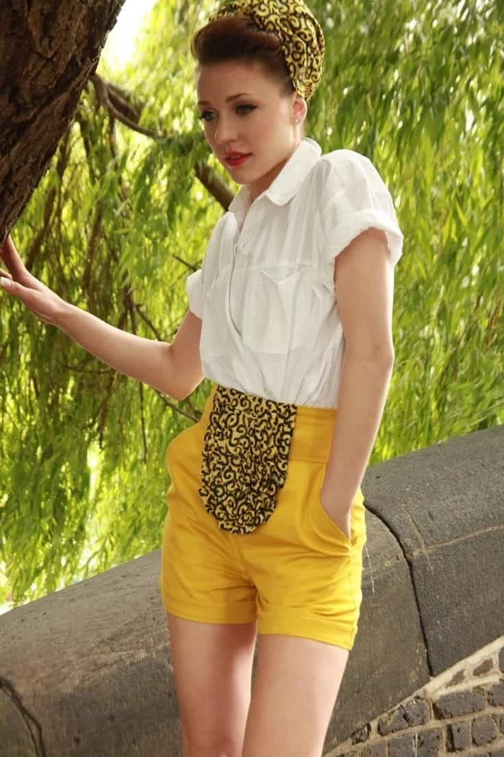 Kitenge short designs for slim ladies