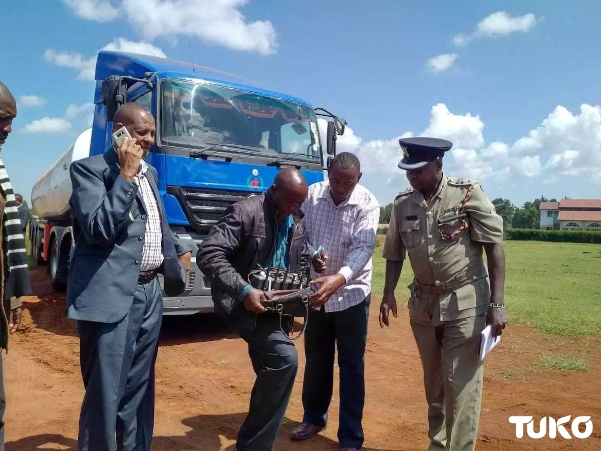 Eldoret police unearth Sugoi fuel adulteration syndicate, arrest 4 suspects