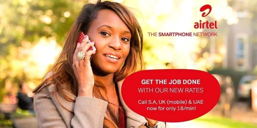 Airtel Kenya international calling rates