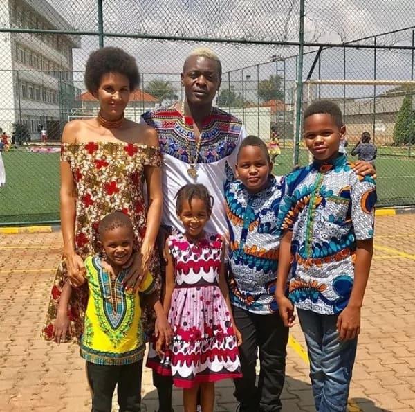 Celebrated Ugandan singer Jose Chameleon welcomes bouncing baby girl