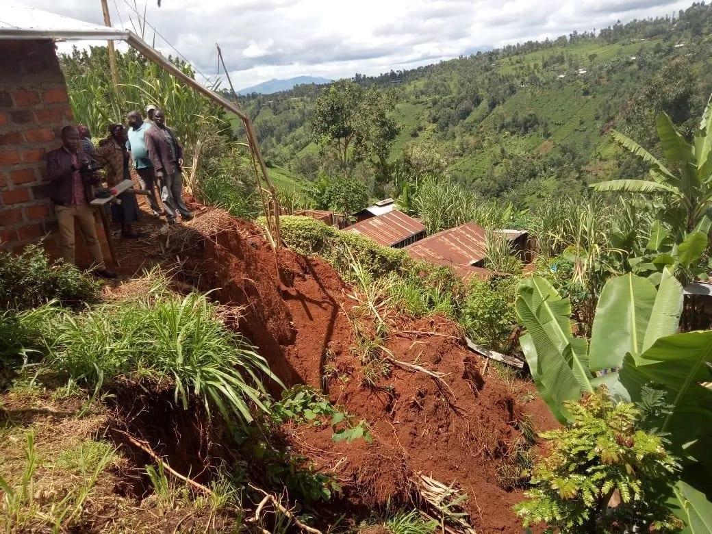 Landslide displace families in Tharaka-Nithi following heavy rains