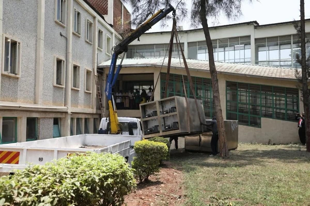 Nairobi county government installs coolers at Pumwani Hospital as temporary morgue following uproar