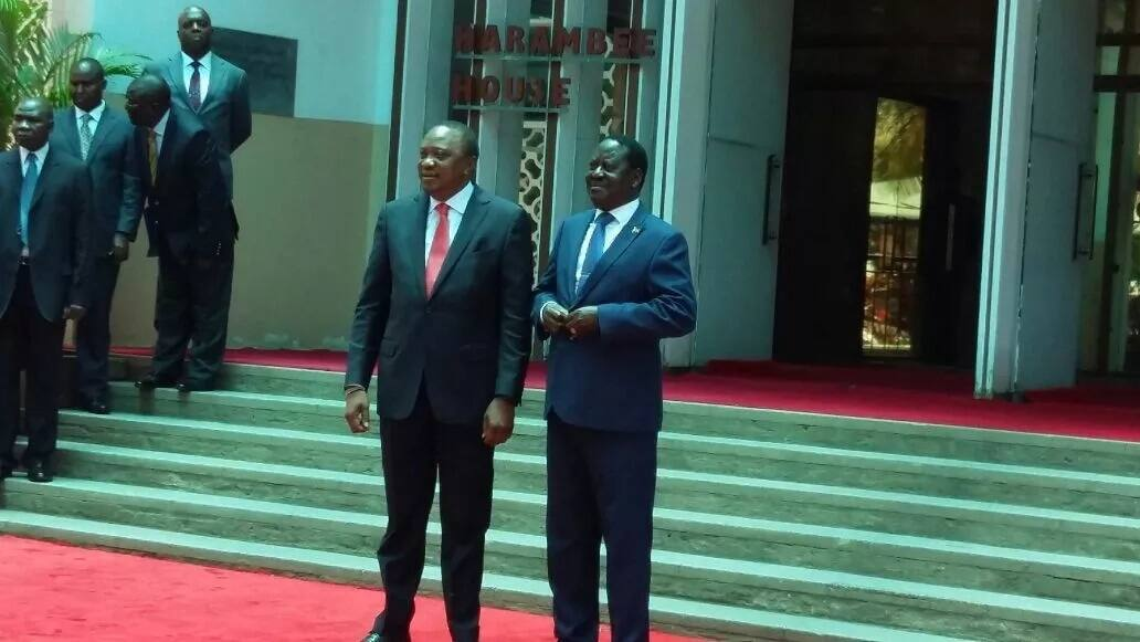 NASA supporters split over Uhuru, Raila surprise reunion