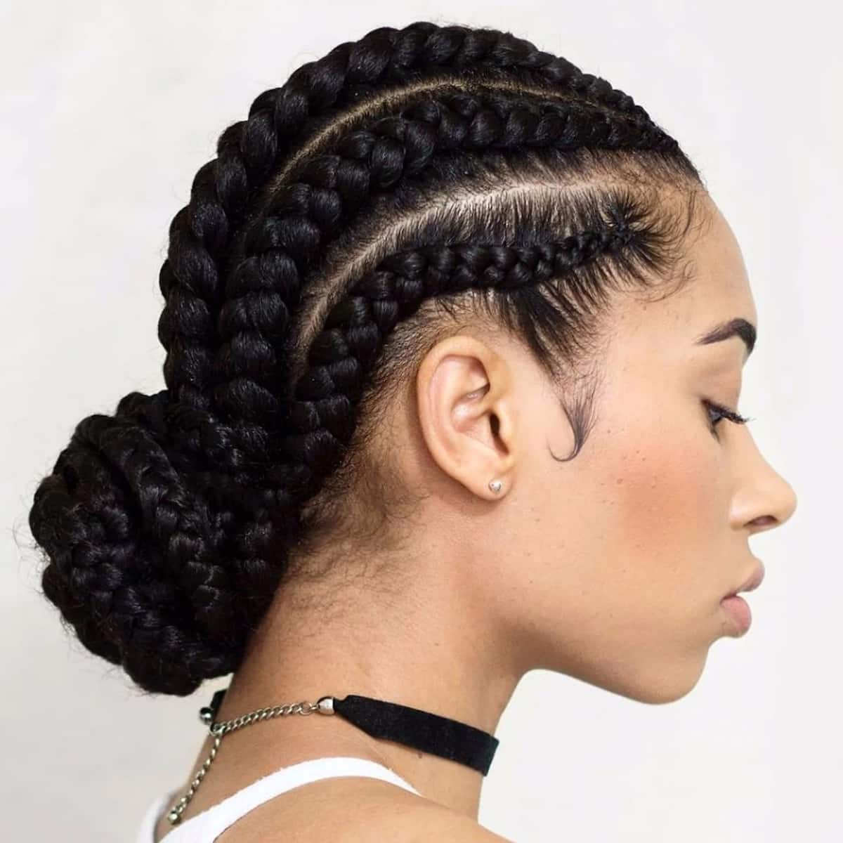 Braid Hairstyles: Easy Hairstyles For Braids (African Hair) Tuko.co.ke