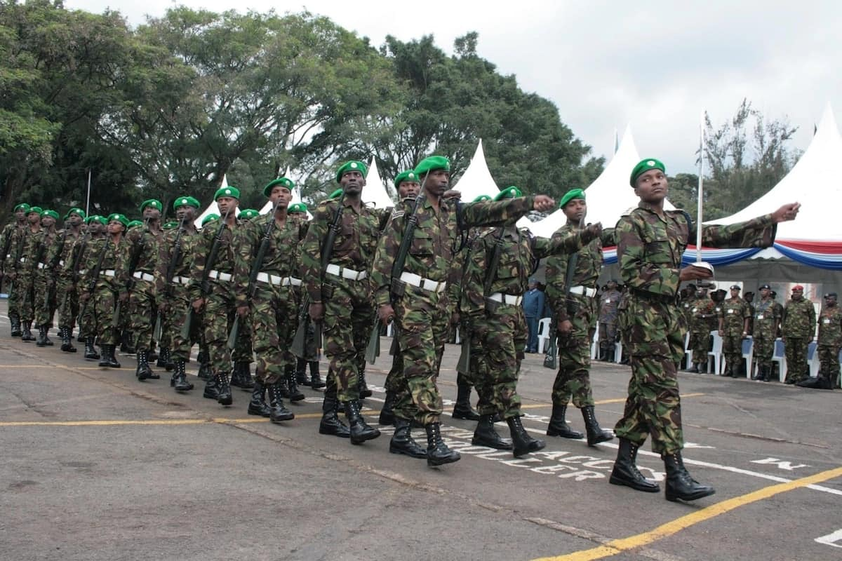 KDF cadet recruitment 2018 ▷ Tuko co ke