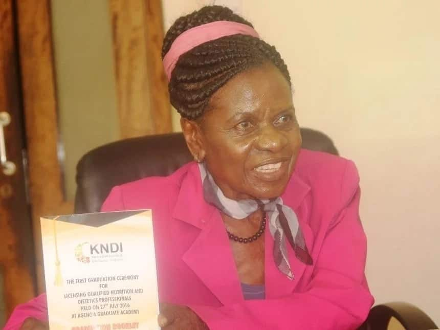 Veteran politician Julia Ojiambo, 82, beats 25 candidates to be named chair of Nairobi University council