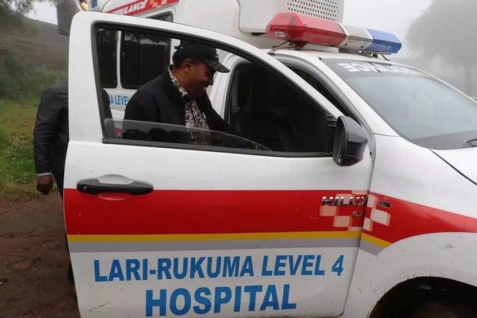 Kiambu county: Male and female patients share same bed