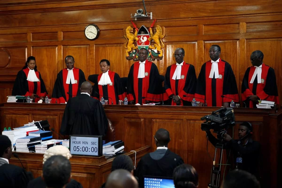 All eyes on CJ Maraga as Supreme Court gives verdict on Uhuru's second win