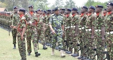 Police arrest KDF soldiers illegally transporting ammunition