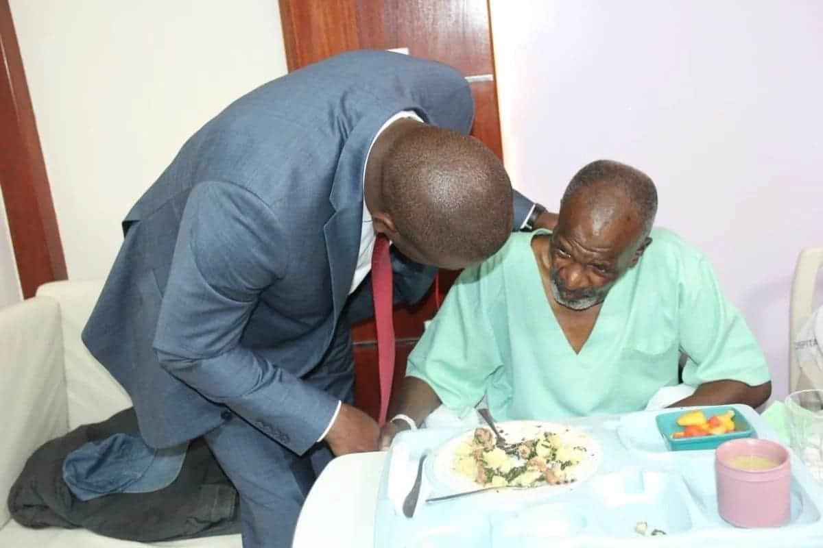Inside posh MP Shah hospital where Kikuyu legendary musician Joseph Kamaru is admitted