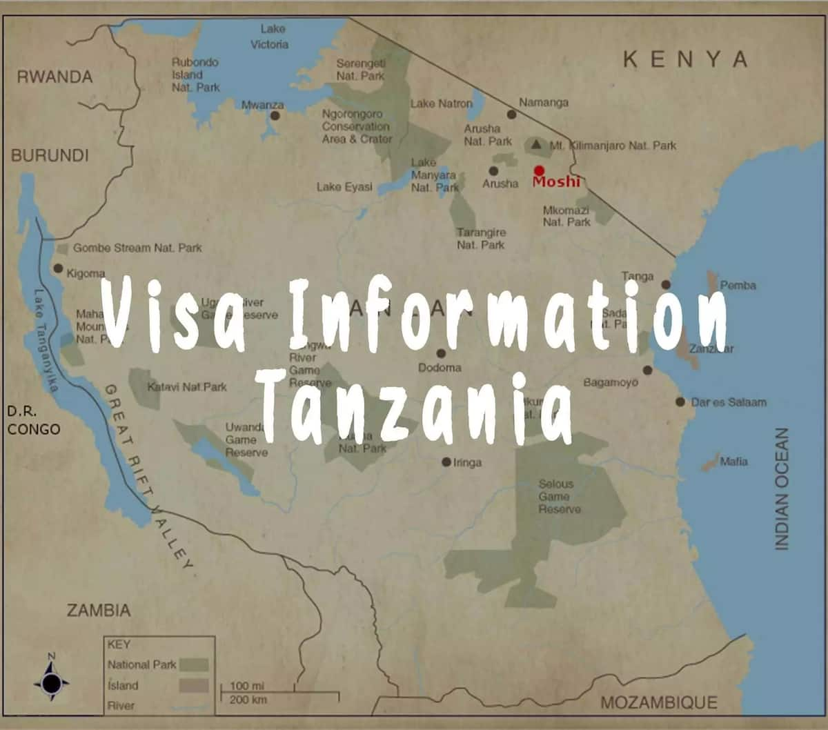 How to get Tanzania visa from Kenya