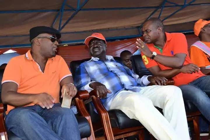 Jubilee defectors to ODM splinter group