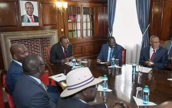 Uhuru and Raila to be honoured in British Parliament for the famous handshake