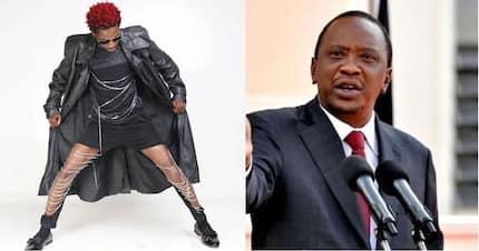 I really need to eat - Eric Omondi after Uhuru said he was too thin
