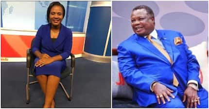 TV girl Mary Kilobi takes COTU boss Francis Atwoli's name as their union blossoms