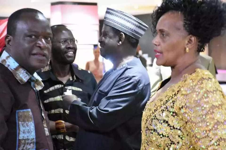 Raila graces Nairobi's Black Panther premier in the company of governor Nyong'o