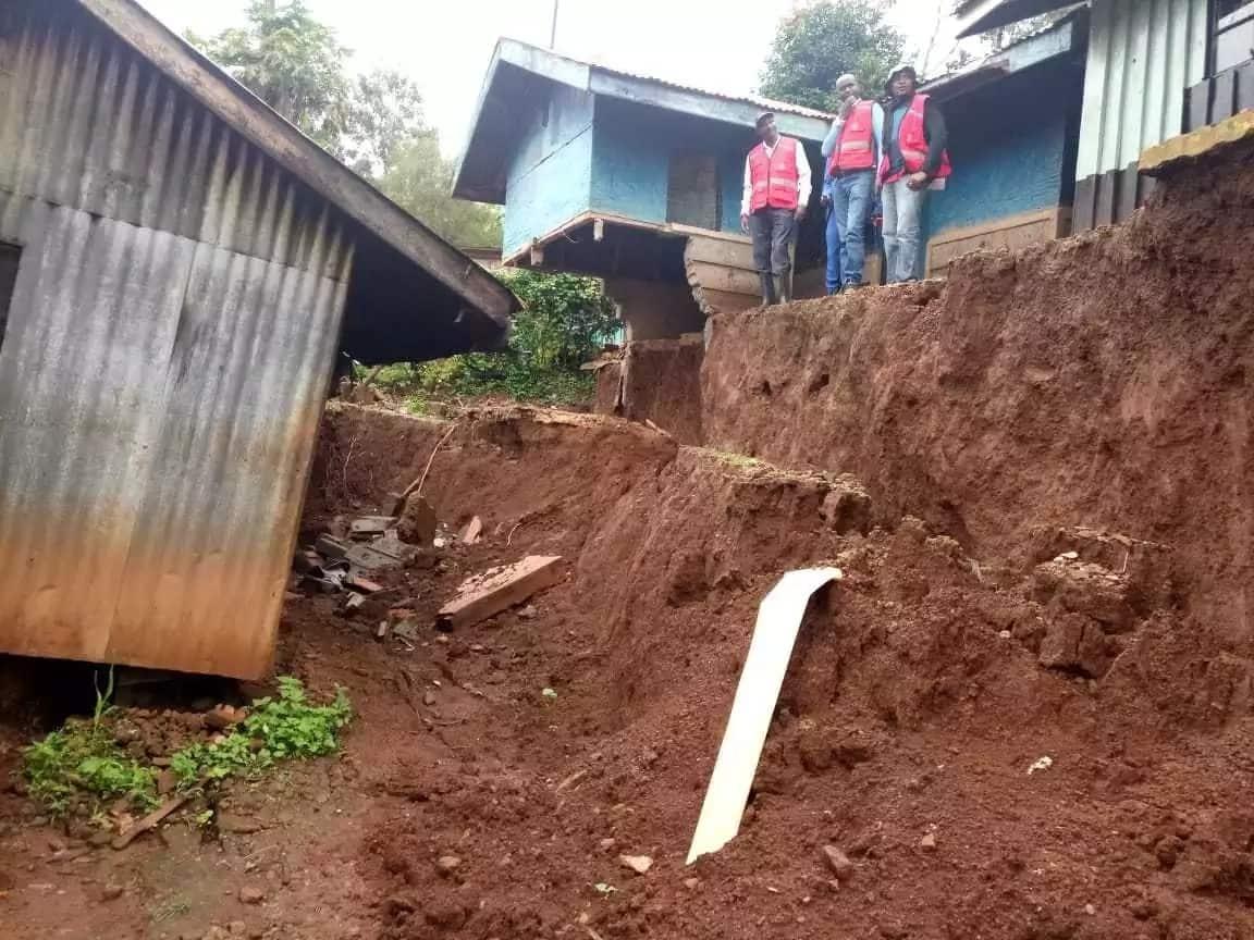 Taharuki nyumba zikizama Murang'a kutokana na mvua kubwa