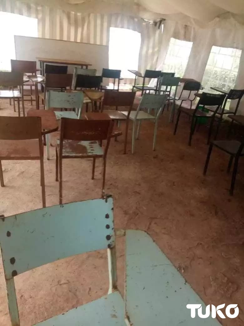 Moi University students vow to paralyse learning after spending semester learning in tents