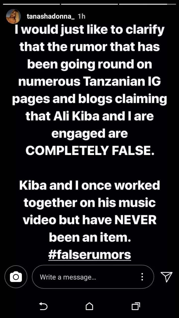 Nick Mutuma's ravishing ex denies being engaged to Ali Kiba