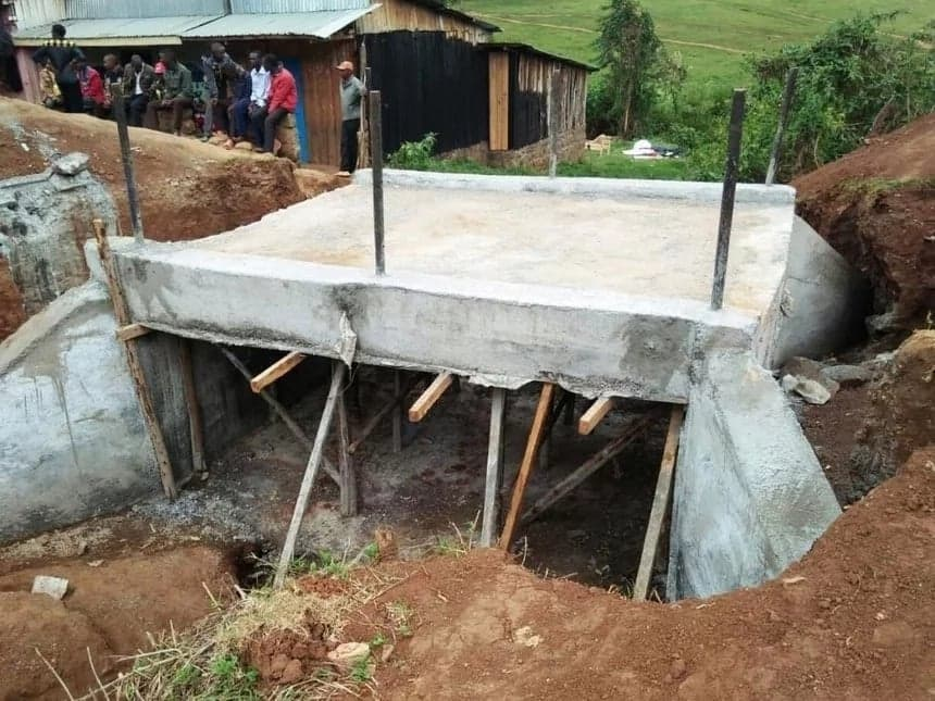 Bomet county succumbs to social media pressure, to demolish shoddy bridge which cost KSh 8.4 million