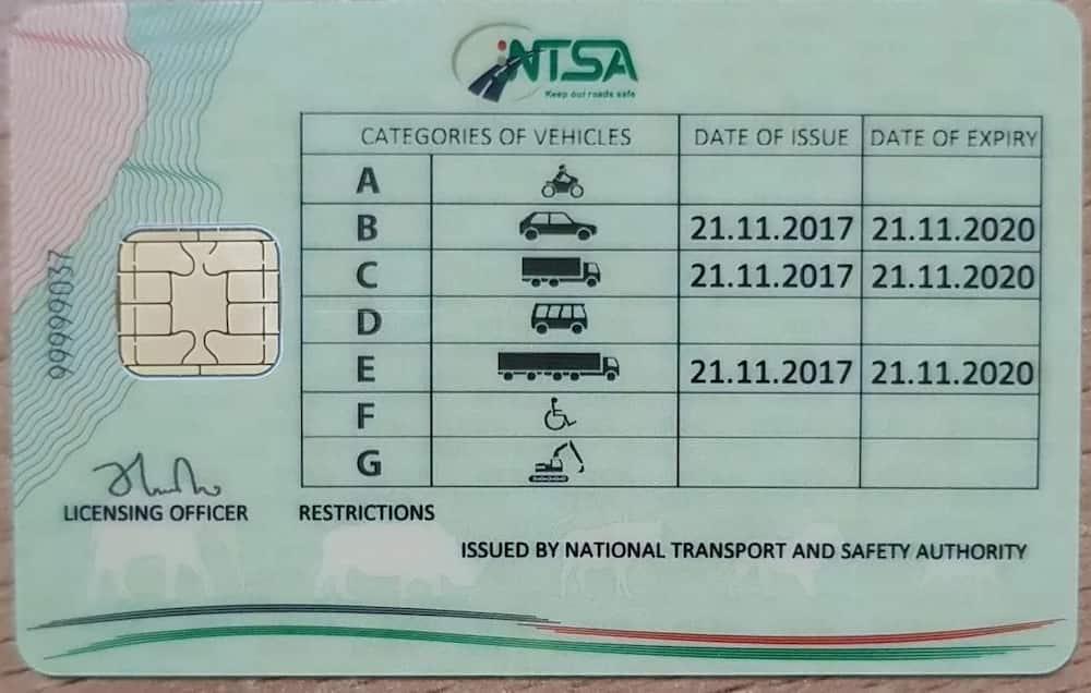 NTSA proposed smart license
