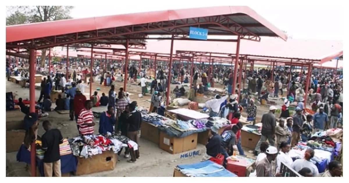 Members of outlawed Mungiki sect accused of harassing traders at Muthurwa market