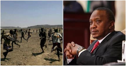 Bandits fell 3 police officers, injure civilian after Uhuru issued shoot to kill order