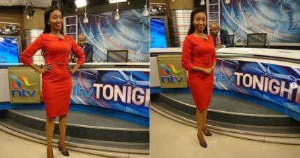 Mark Masai wa runinga ya NTV anaswa akimmezea mate Gladys Gachanja