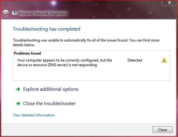 What to do when dns server not responding My computer dns server is not responding Dns server not responding windows 7