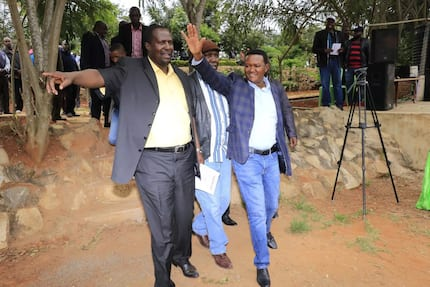 Supreme Court temporarily upholds Alfred Mutua's election as Machakos governor