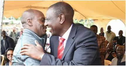 Kabogo eats humble pie, saunters to his nemesis DP Ruto's Karen home
