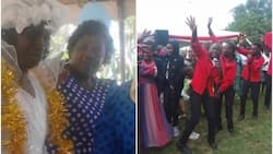 Maseno woman marries a church after husband stressed her