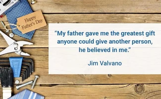 Best quote for fathers day
