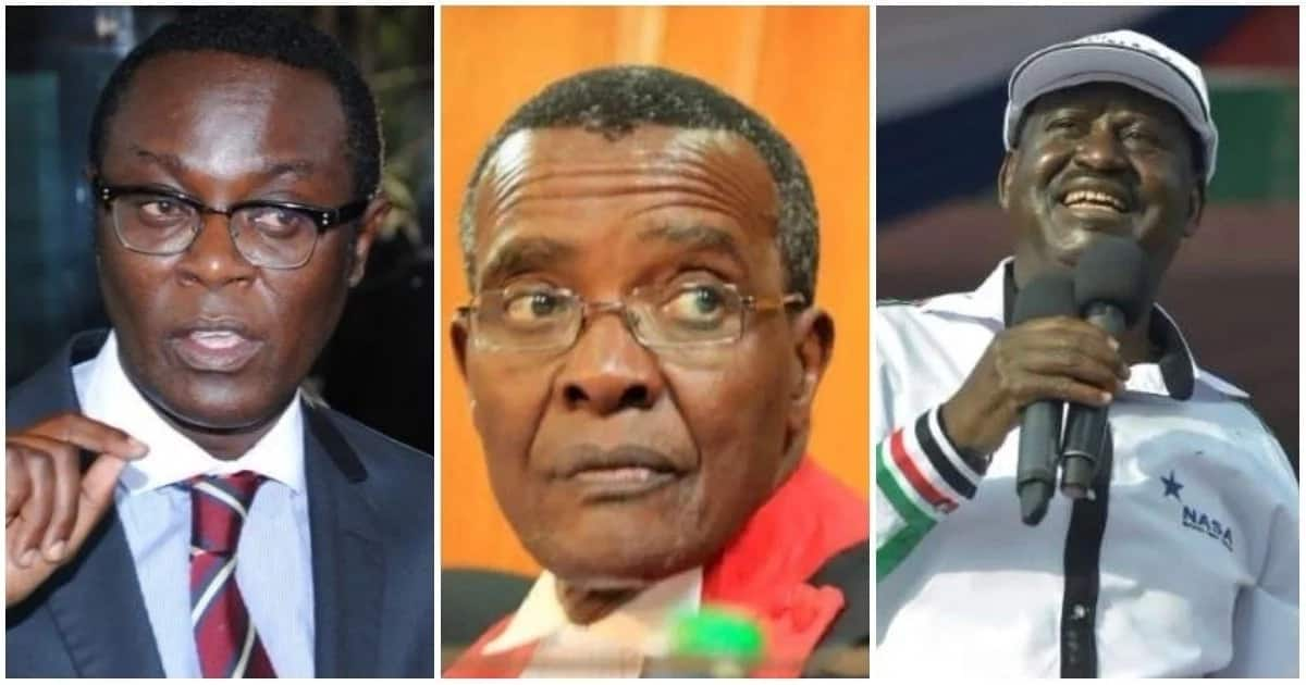 Justice Maraga must apologise to Kenyans and God – Mutahi Ngunyi