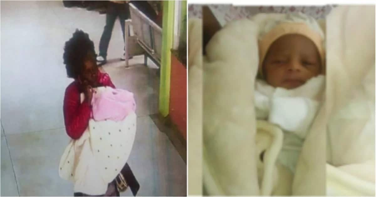 Photo of the lady who stole a 3-weeks-old baby from KNH emerge, do you know her