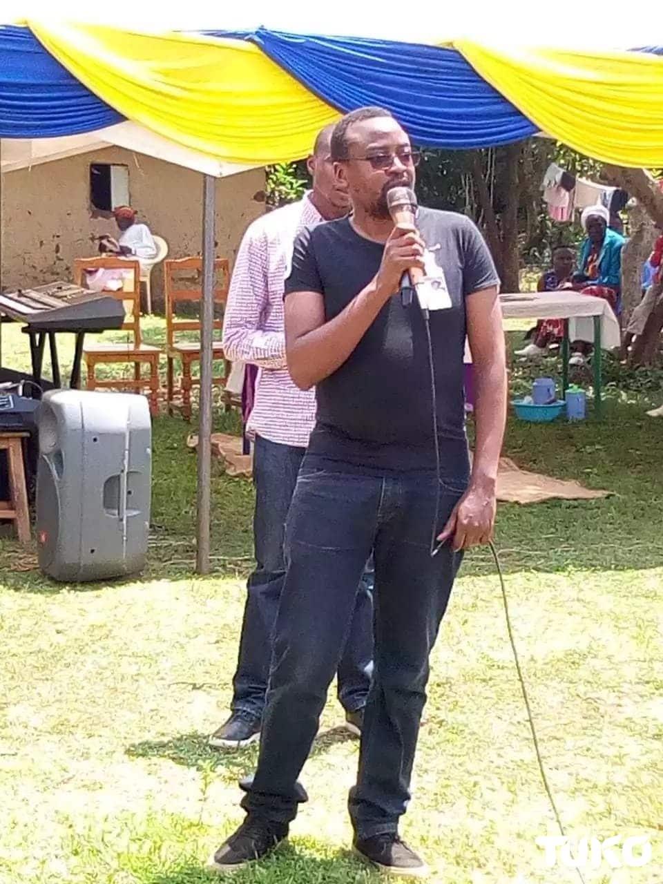 Journalist Dennis Omondi who died from leukemia laid to rest