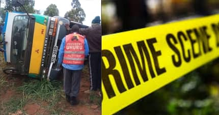 Boda Boda rider crashes to death while escaping traffic police officers in Murang'a