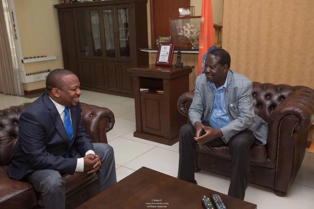Handshake effect: Raila Odinga holds meeting with Mike Sonko
