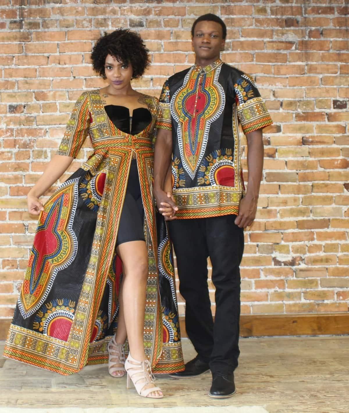 dashiki couples wear