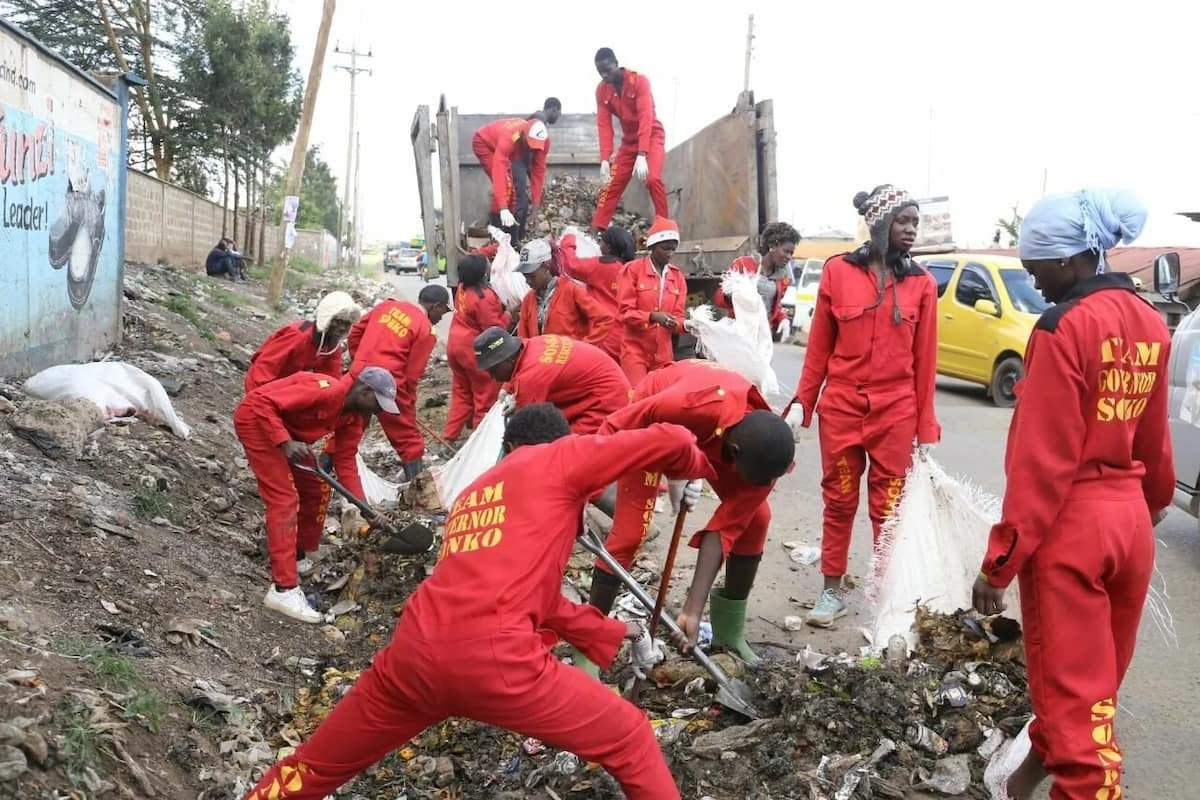 Ex-Sonko Rescue Team members demand their jobs back to end muggings in Nairobi