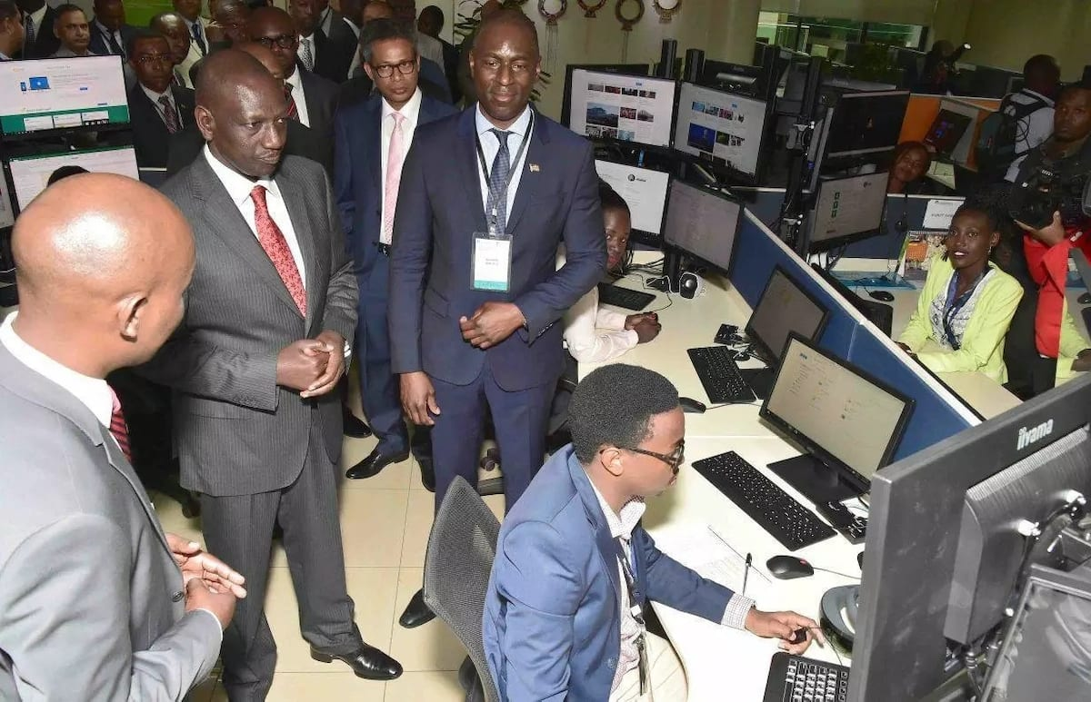 Ruto launches KSh100m software centre in Nairobi, first in Africa