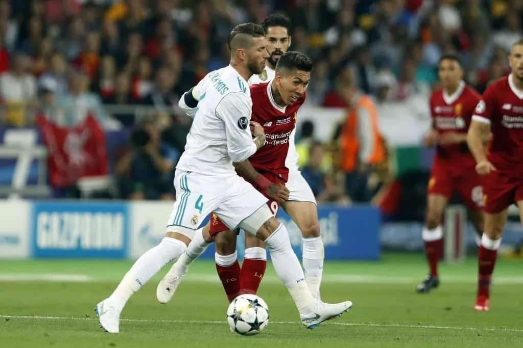 Firmino hits back at Ramos for comments he made about him