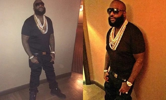 Rick Ross dramatic weight loss